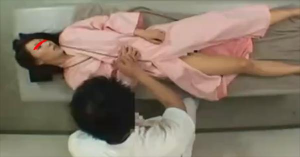 マッサージ師に媚薬を塗られイキまくる女性